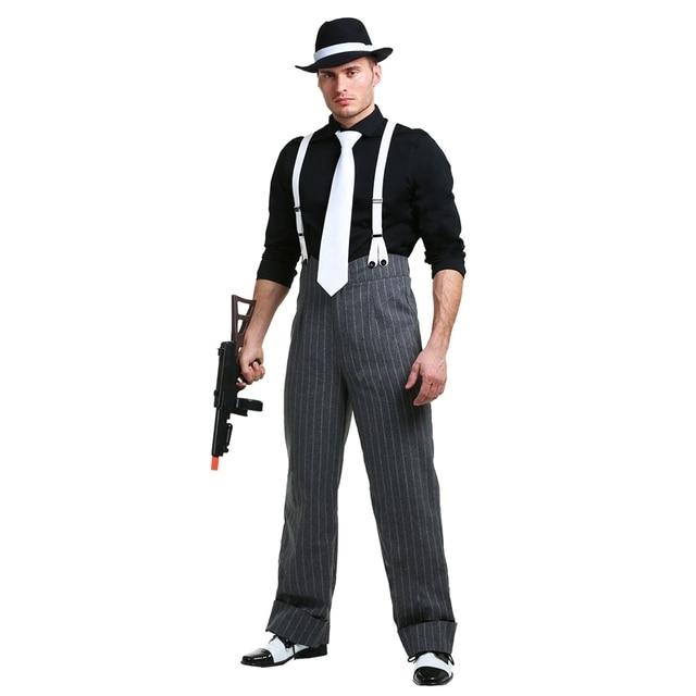 Mens Mafia Underboss 1920u0027s Style Gangster Costume  sc 1 st  AliExpress.com & Mens Mafia Underboss 1920u0027s Style Gangster Costume on Aliexpress.com ...