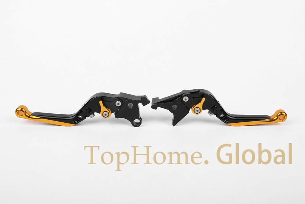 ФОТО Motorcycle Accessories CNC Foldable&Extendable Brake Clutch Levers For Suzuki HAYABUSA/GSXR1300 2008-2014 2009 2010 2011 2012