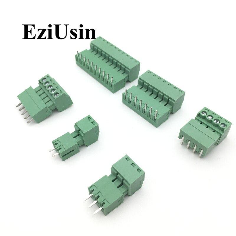 15EDG 3.81mm 3.5mm KF2EDG PCB Screw Terminal Block Connector PLUG PIN HEADER SOCKET Right Angle 2/3/4/5/6/7/8/9/10/12