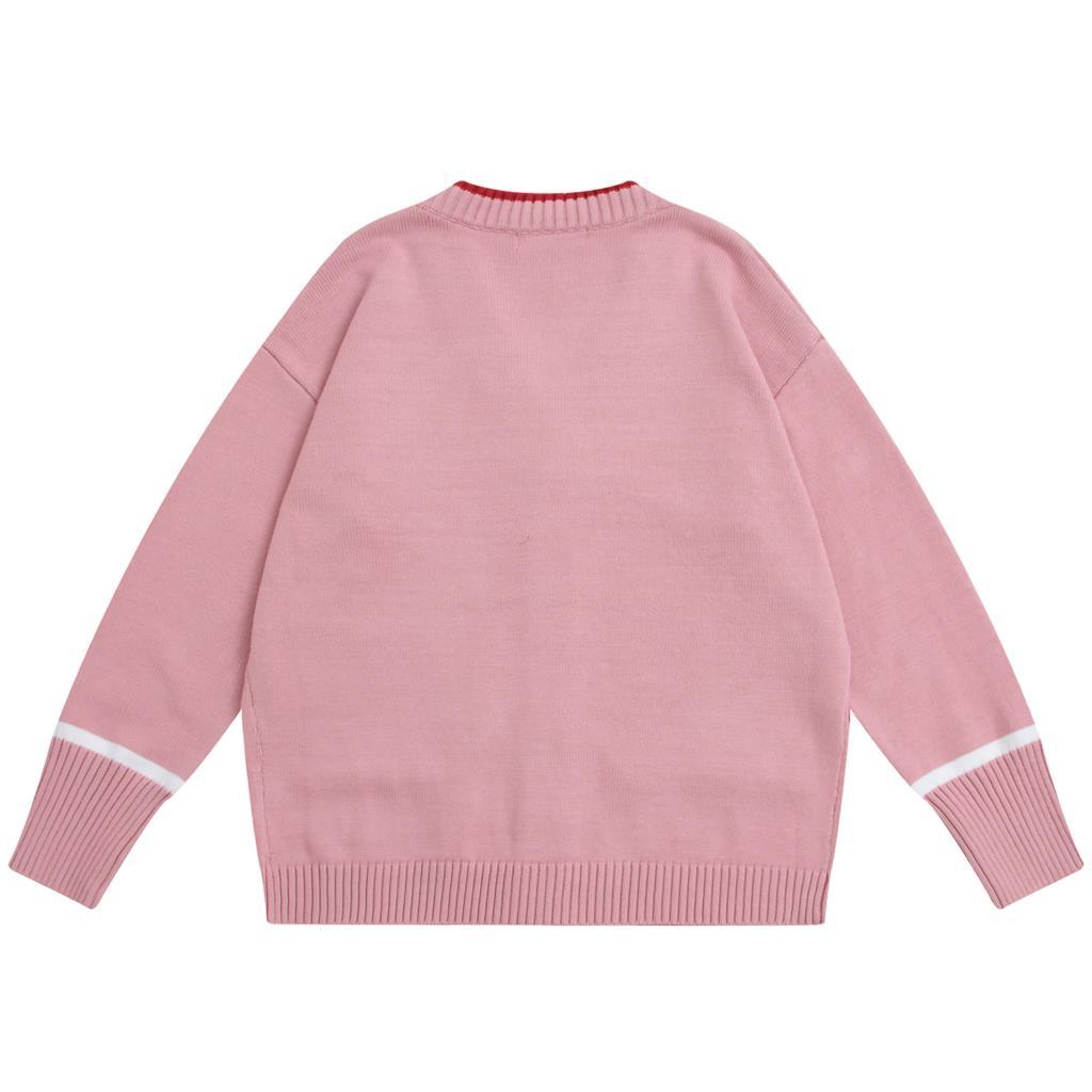 V Top Femelle Qualité Haute Rose Moyen Chandail Femmes Cape Printemps Poche cou Tricoté Automne Mode Survêtement Cardigan long gTqd4wxw