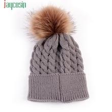 Здесь можно купить   4 Color Newborn Cute Winter Kids Baby Hats Knitted Wool Hemming Adjustable Hat Solid Wool Hat Jan11  Baby Clothing
