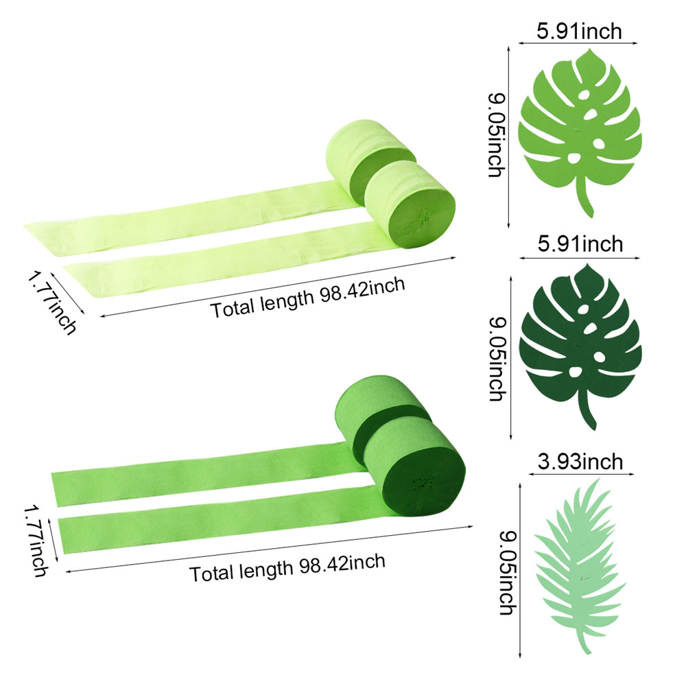 FENGRISE Jungle Party Green Screen Background Decor Dinosaur Party Theme Safari Birthday Party Decoration Kids Jungle Decoration in Party DIY Decorations from Home Garden