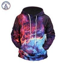 Mr.BaoLong Brand 3D Hoodies Men/Women 2018 New Fashion Print Burning Cloud 3D Sweatshirts Unisex Hoody Tops Tracksuits