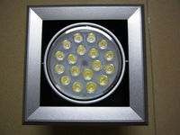Fast Shipping Manufacturer Supply 18W LED Grille Lamp LED Grid Light LED Bean Container Light CE