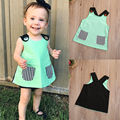 Toddler Infant Baby Girl Clothing Tops Blouse Sleevelesss Casual Blouse Cute Clothes Tops Baby Girls