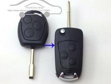 2015 Новый Изменения Флип Складные Uncut Дистанционного БРЕЛОК Ключа Автомобиля Чехол для Ford Focus/Mondeo Switchblade 3 Замена кнопки