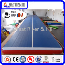8MX2MX0.2M inflatable air track /gym mats for training with fedex shipping(blue)