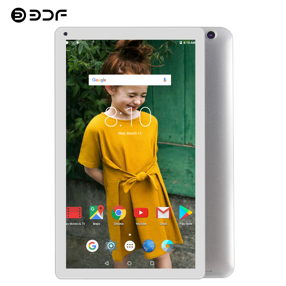 BDF Tablet 10 Inch Tablet Pc Android 5.1 Quad Core 1GB+32GB WiFi Tablet Android 1024*600 Support Google Play Market Pc Tablet 10