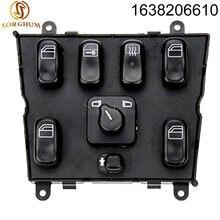 Стеклоподъемный выключатель 1638206610 для mercedes ml w163