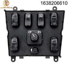 New Power Window Switch 1638206610 for mercedes ml w163 ml320 1998-2002 1998 1999 A 1638206610 A1638206610 new 1999 2001 for mercedes benz ml430 electric power window master control switch 1638206610