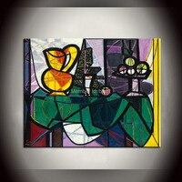 3 ליגה סדרת ציורי ציור שמן דקור וול פאבלו פיקאסו על canvas12x16inch (30x40 ס