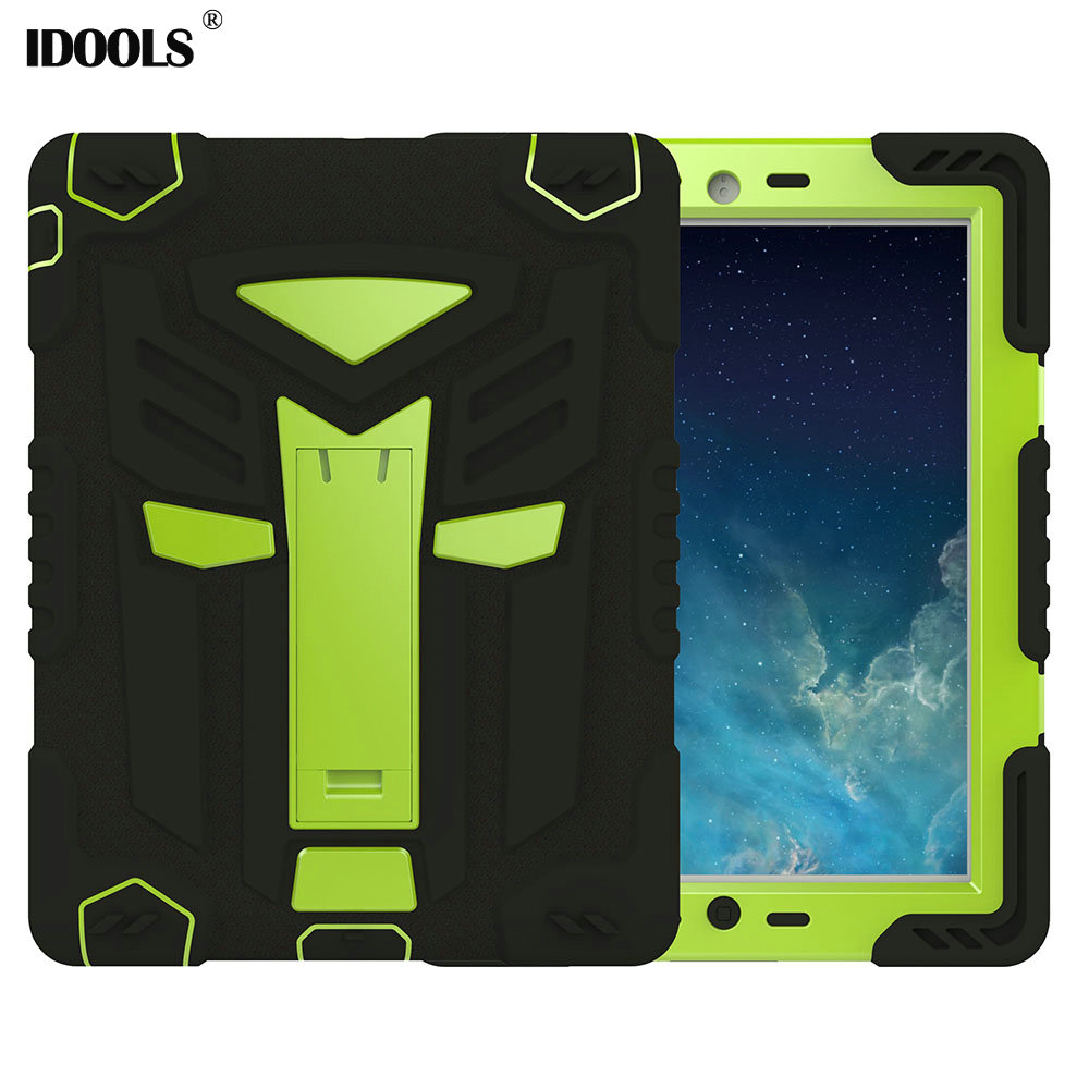 Tablet Cover For Apple ipad 2 3 4 Case Anti Dust Hard PC TPU Hybrid Coque With Stand 9.7 inch Cover Cases For ipad 4 3 2 IDOOLS for coque ipad 2 3 4 case flip fo the new pad 9 7 inch stand function