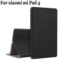For Xiaomi Mi Pad Four Unique Case Cowl MiPad Four Leather-based shell Extremely Skinny With Pill PC+PU Holder For Xiaomi Mi Pad4 flip circumstances