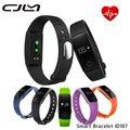 Cjlm banda id107 bluetooth rastreador de fitness monitor de freqüência cardíaca pedômetro inteligente pulseira para ios android pk mi band2 id101