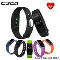 Cjlm id107 banda inteligente bluetooth gimnasio rastreador heart rate monitor podómetro pulsera para ios android pk mi band2 id101