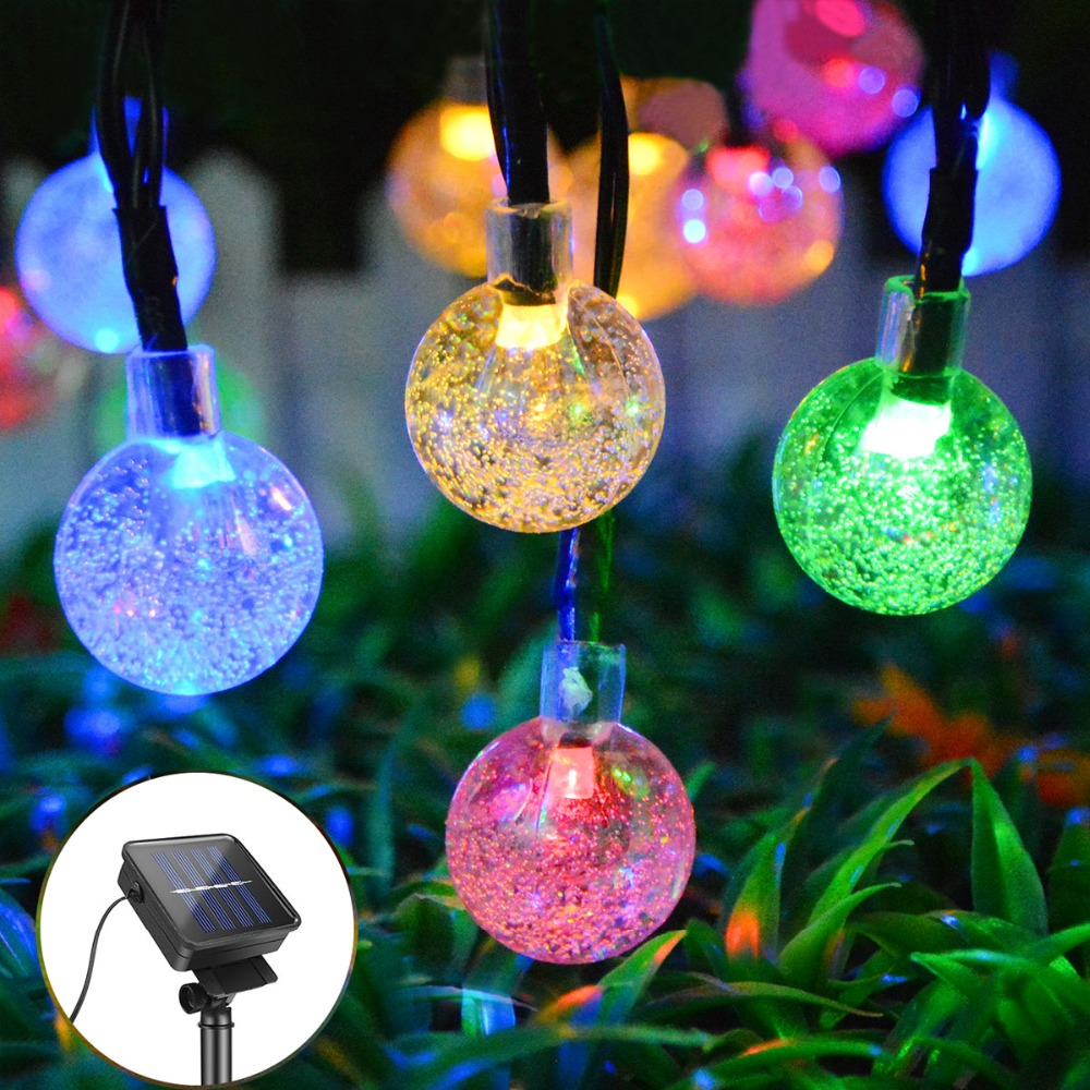 Amiable Waterproof Outdoor Solar Street Light Garland Path Garden Lighting Wall Lamp String Fairy Light Landscape Home Decorative Strip