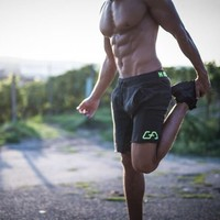 New Fashion Mens Sporting Beaching Shorts Trousers Cotton Bodybuilding Sweatpants Fitness Short Jogger Casual Gyms Men