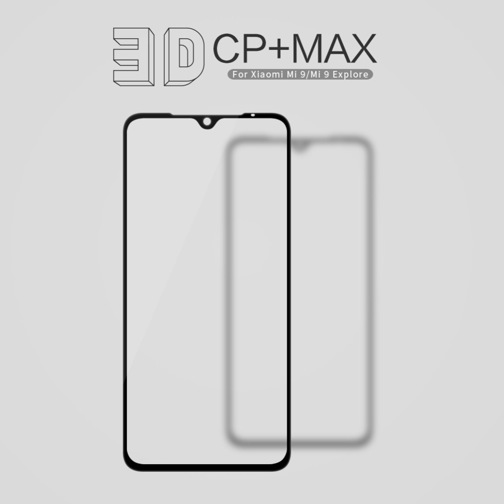 Nillkin for Xiaomi Mi 9 8 SE Glass Screen Protector 3D CP MAX Full Cover Safety Protective Tempered Glass for Xiaomi Mi9 Mi8 SE in Phone Screen Protectors from Cellphones Telecommunications