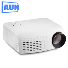 Best Buy AUN Projector E07 for Home Theatre Education of Children , 640*480 Pixels LED Projector set in HDMI VGA USD Prot. 1080P LED TV