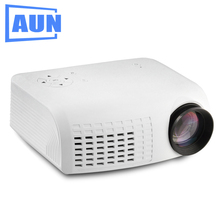 AUN Projector E07 for Home Theatre Education of Children , 640*480 Pixels LED Projector set in HDMI VGA USD Prot. 1080P LED TV