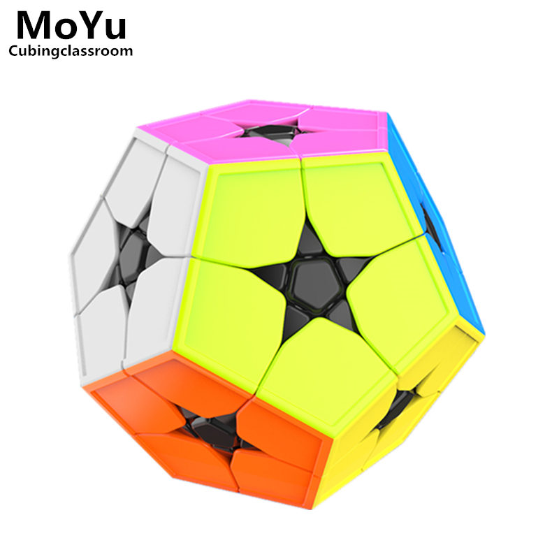 MoYu Cubing Classroom Meilong 2x2X2 Megaminxeds Stickerless Magic Cube Mini Professional Puzzle Speed Cubes Educational Toys