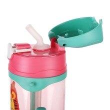 Детская портативная чашка-непроливайка, аксессуары для соломы, безопасный мягкий полипропилен силикон, Детские Непроливайки, аксессуары для замены соломы