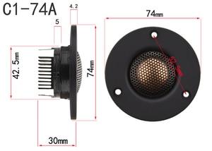 Image 2 - HIFIDIY LIVE 3 Inch Tweeter Speaker Unit neodymium magneet Beryllium koper Zijde rand membraan 6OHM30W treble luidspreker C1 74A