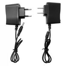 Eu/米国のプラグインdc 4.2v 500mAリチウム電池充電器18650ポリマー電池パック100 240v充電器用前照灯リード線