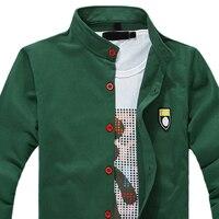 Newest Men S Boutique Leisure Pure Cotton Sweatshirts Male Fall Leisure Coat Men Labeling Casual Jackets