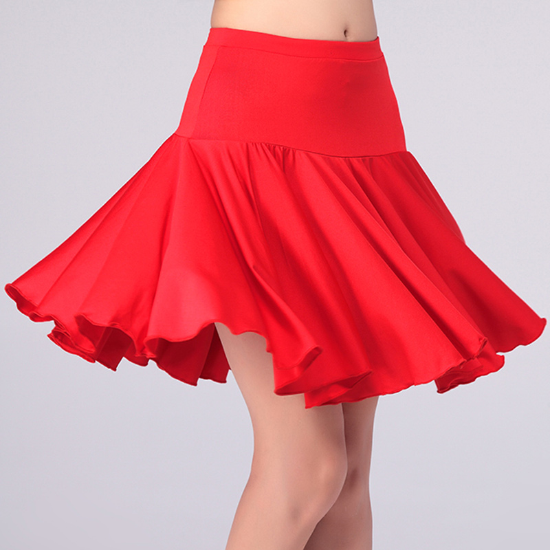 2019 Sexy Women Latin Skirt Salsa Tango Rumba Samba Paso Ballroom Dance Dress Latin Dance Skirts 2 Paragraph