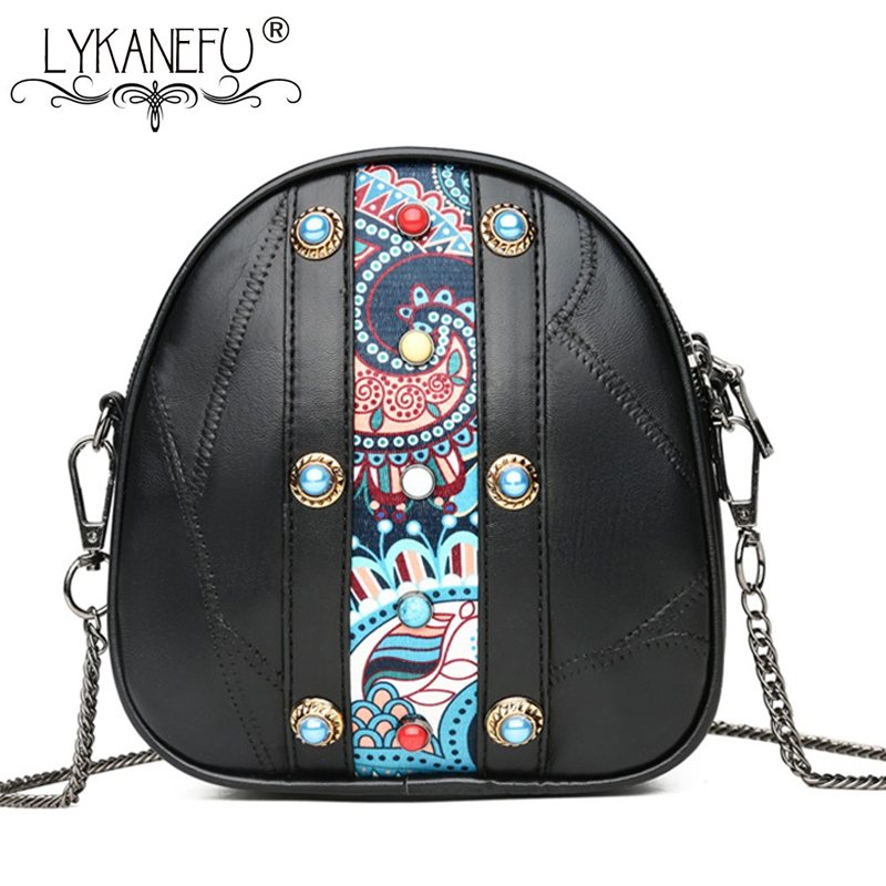 LYKANEFU Soft Sheepskin Genuine Leather Bags for Women Messenger Bags Small  Purse Ladies Leather Crossbody Bag Bolsa Feminina-in Top-Handle Bags from  ... 817e9387ab7f4