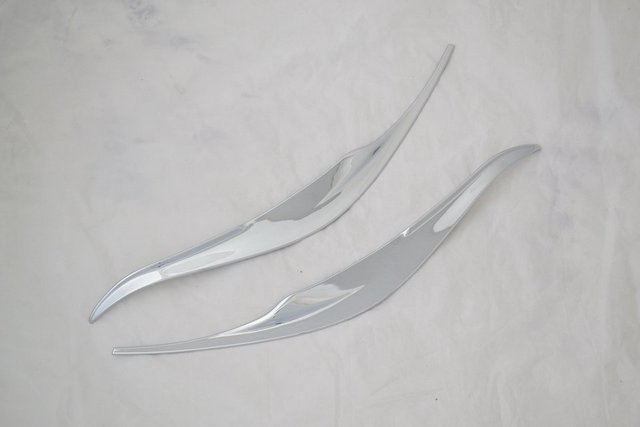 Auto front +rear light trim for Toyota Vios, abs chrome,auto accessories,free shipping.4pcs
