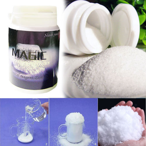 Fashion Instant Snow Man-Made Magic Artificial Snow Powder Christmas New Year Party Decoration DIY for House snow decorations