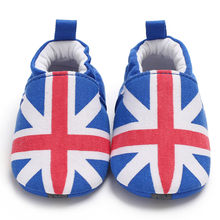 CHAMSGEND HOT NEW Baby Girl Soft Booties Snow National Flag Floor Shoes Prewalker Warm Shoes dropship Oct29 2018(China)