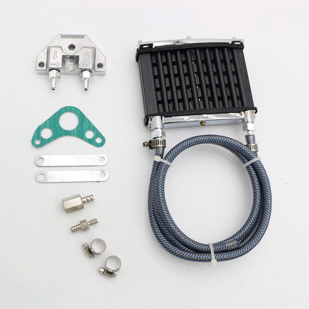 For 125cc 140cc 150cc ATV Trail Dirt Motorcycle CNC Aluminum Engine Oil Cooler Cooling Radiator Kit