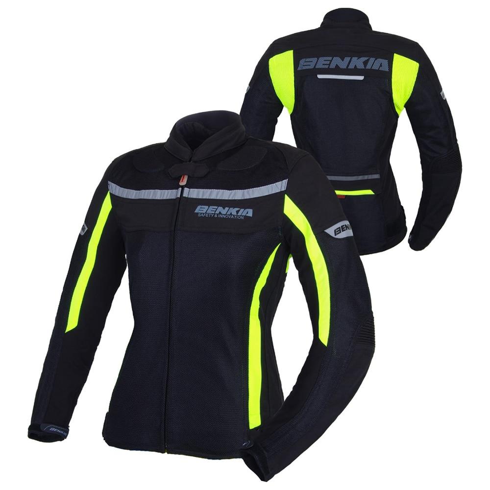 BENKIA Motorcycle font b Jacket b font font b Women b font Motocross Racing Suits Spring