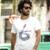 CLUBE AK Marca T-shirt Pintura À Mão Foguete Impresso Tshirt Cuba Libre Série 100% Algodão T Camisa de Manga Curta Homens T-shirt 1600006