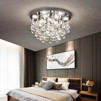 Кристалл с подсветкой простые современные теплые романтические Творческий Круглый Книга номер ресторан гостиной потолочный светильник