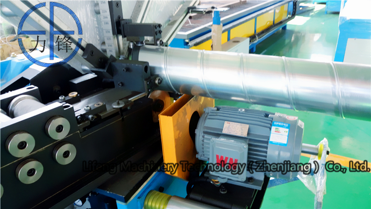 2017 vente chaude/haute qualité sprial en tôle formant la machine, spiro automatique conduits conduit machine de fabrication