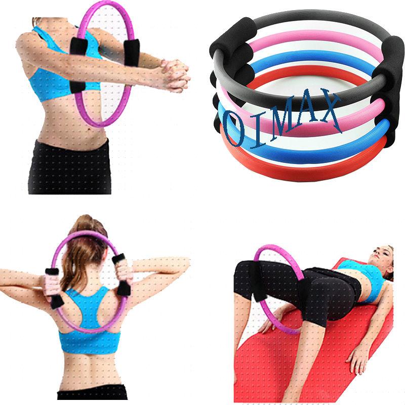 Pilates Ring Magic Cirkel Dual Grip Sporting Goods Yoga Exercise Fitness