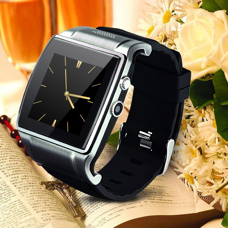 Hiwatch 2 GSM Bluetooth font b Smartwatch b font Phone With Camera Pedometer FM Radio For