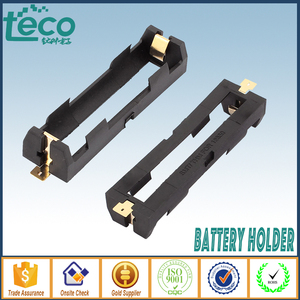Image 1 - 5Pcs/lot High Quality 18650 Battery Holder With Bronze Pins SMT one cell 18650 SMD TBH 18650 1C SMT