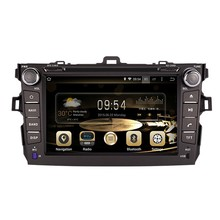 8inch ROM16G 1024*600 Quad Core Android 4.4.4 Fit TOYOTA COROLLA  2006  – 2011 CAR dvd head unit dvd player stereo GPS Radio map