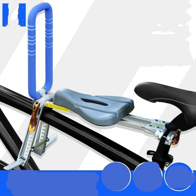 Горный велосипед детское сиденье переднее портативное складное Велосипедное быстроразборное детское безопасное сиденье