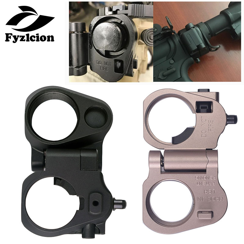 US $12 98 20% OFF|AR15 connection 6 Position Stock Pipe Stock Buffer Tube+  M16/M4 SR25 Series GBB(AEG) AR folding Stock Adapter Scope Mounts-in