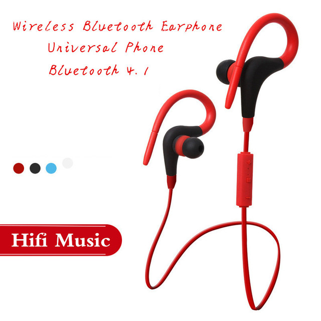 7429271d411 2017 Sweat Proof Bluetooth Wireless Headset Wireless Earphones Sport  Running Headsets For OS Samsung Xiaomi Android