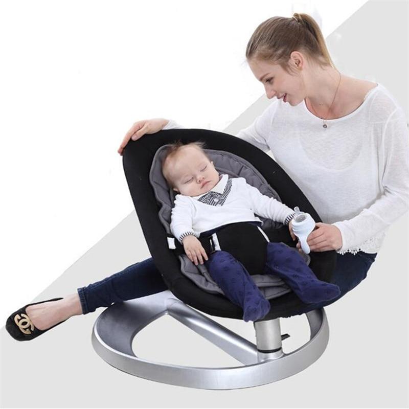 Automatische Schommel Baby.Babyruler Baby Swing Uitsmijter Schommelstoel Voor Baby Bebek Salincak Pasgeboren Baby Slapen Mand Automatische Cradle Bebek Salincak