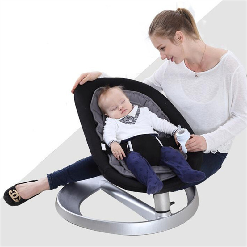 Chaise berçante bébé balancelle bébé pour bébé Bebek Salincak nouveau-né panier de couchage berceau automatique bebek salincak - 3