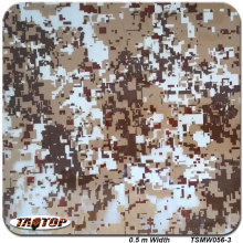 TSMW056-3  0.5m *2M Popular digital camo hydro dipping film  hydrographic film  water transfer printing film