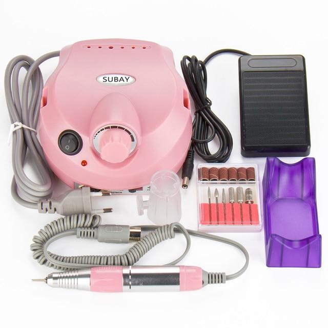 Aliexpress.com : Buy 30000RPM SUBAY Pro Electric Nail Drill Machine ...